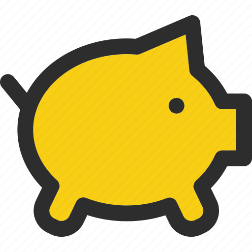 bank, banking, cash, currency, finance, financial, piggy icon
