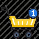 ecommerce, add, buy, cart, trolley, sale, shopping