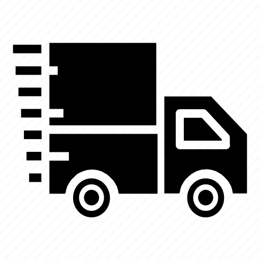 box, car, delivery, ecommerce, fast, pickup, shop icon