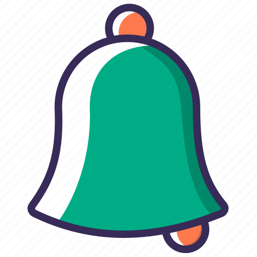 alert, attention, bell, christmas, notification, ring, temple icon