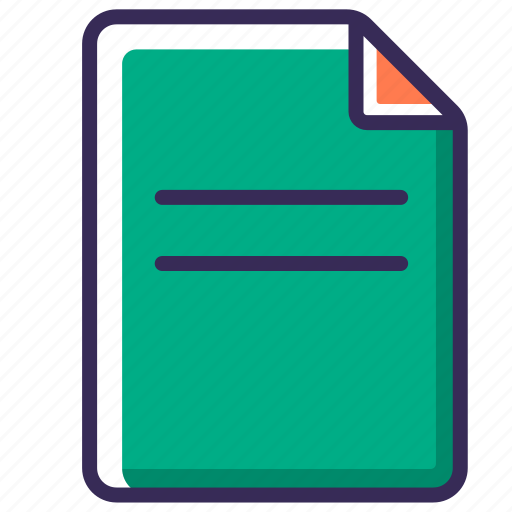 doc, document, file, page, paper, sheet, text icon