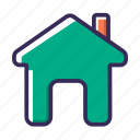apartment, estate, home, house, navigator, property, real estate icon