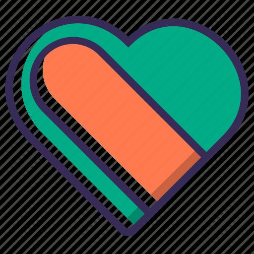 bookmark, favorite, follow, heart, like, love, star icon