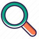 find, magnifier, magnifying, marketing, search, seo, zoom icon