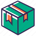 box, carton, delivery, packing, parcel, product, shopping icon