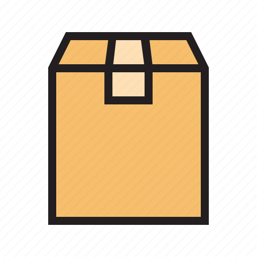 box, ecommerce, filled, package, product, send, shipping icon