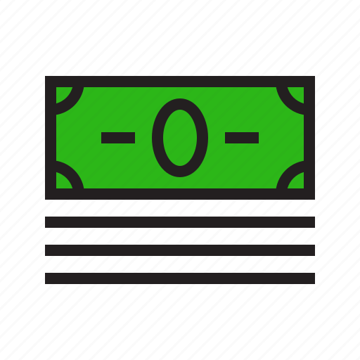 balance, cash, ecommerce, filled, money, payment, refund icon