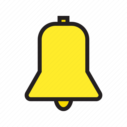 bell, ecommerce, filled, information, mail, message, notification icon