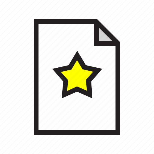 ecommerce, filled, list, product, rate, star, wish icon