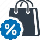 sale, offer, discount, shopping, percentage icon