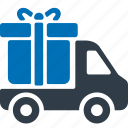 truck, delivery, track, shipping, transportation