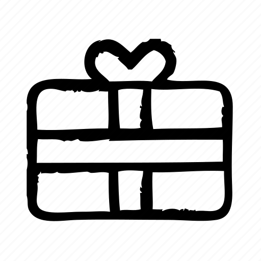 commerce, e, free, gift, present, shopping icon