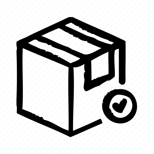 ckeck, commerce, e, package, shipping, shopping icon