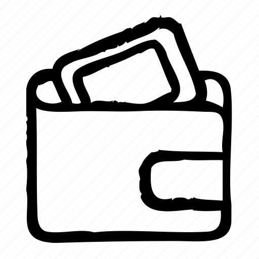 commerce, e, inlay, money, shopping, wallet icon