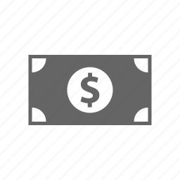 bill, cash, currency, dollar, finance, money, payment icon