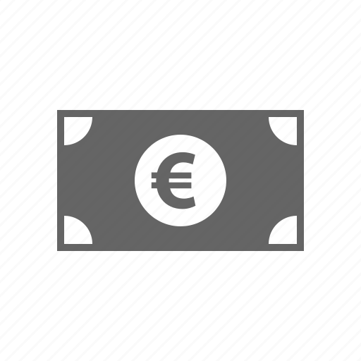 bill, cash, currency, euro, finance, marketing, money icon