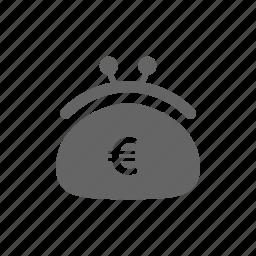 bag, fashion, money, payment, purse, shopping, woman icon