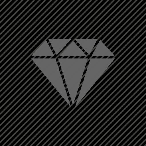 diamond, diamonds, gem, gemstone, jewel, ruby, stone icon