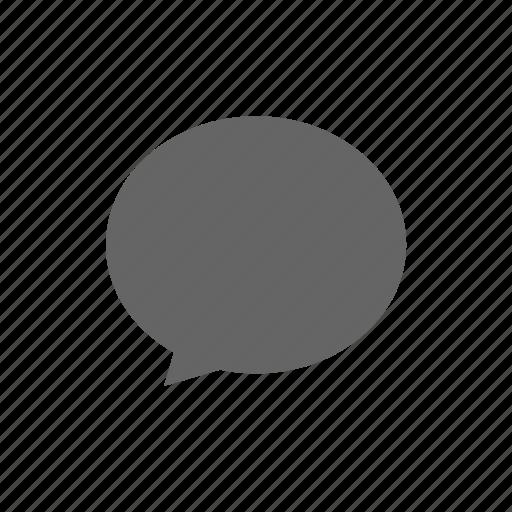 bubble, chat, comment, conversation, message, speech, text icon