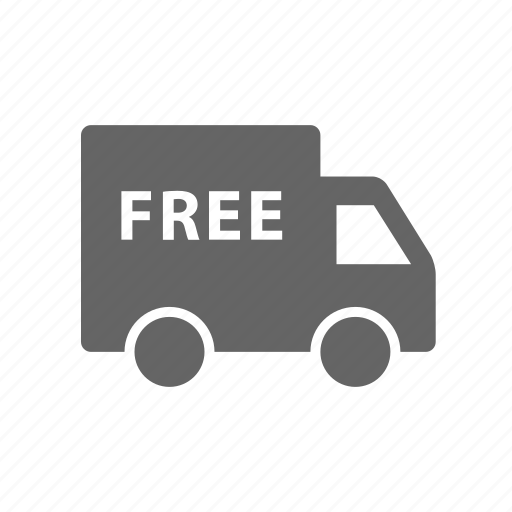 delivery, ecommerce, free, shipping, transport, transportation, vehicle icon