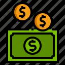 cash, money, coins, finance, banknote
