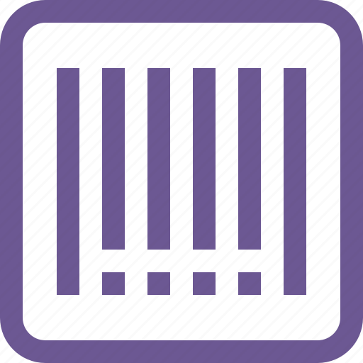 bar, barcode, code icon