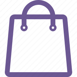 cart, empty, shopping bag icon