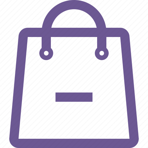 cart, minus, remove, shopping bag icon