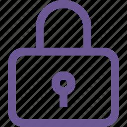 lock, locked, login icon