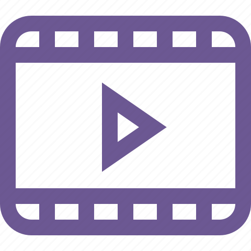 media, play, video icon