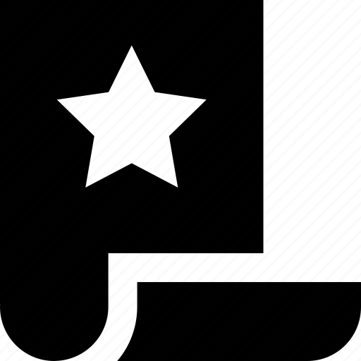 document, dokument, favorite, star, template icon