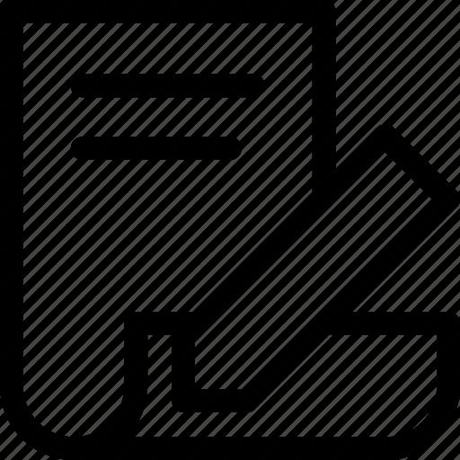 change, document, dokument, edit, pen, pencil, template icon