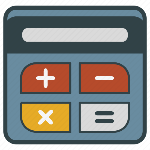calculator, comptometer icon