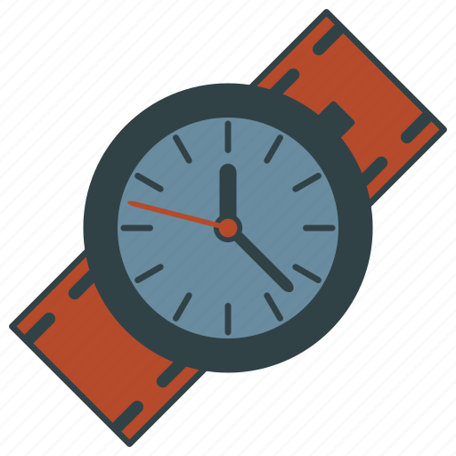 clock, time, timepiece, watch, wristwatch icon