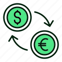 money, exchange, trade, currency