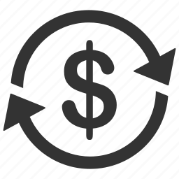 business, economy circle, finance, financial, investment, money, money exchange icon