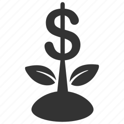 dividend, finance, growth, income, interest, investment, profit icon
