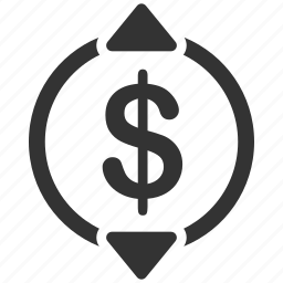 currency, direction, exchange rate, finance, financial, money, rate icon