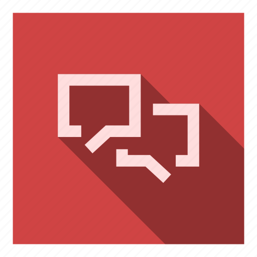 chat, conversation, forum, messages, messaging, talk, talking icon