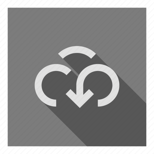 backup, cloud, data, download, host, server, storage icon