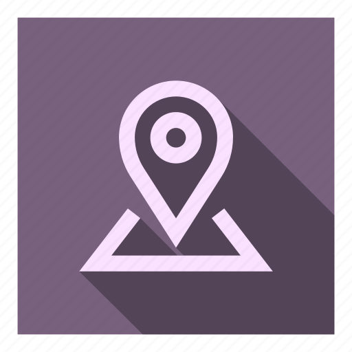 destination, gps, map, marker, my places, point, position icon