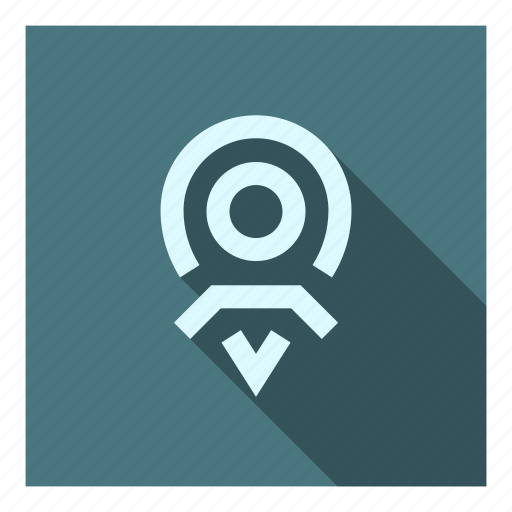 Destination, directions, gps, map, marker, my places, point icon - Download on Iconfinder