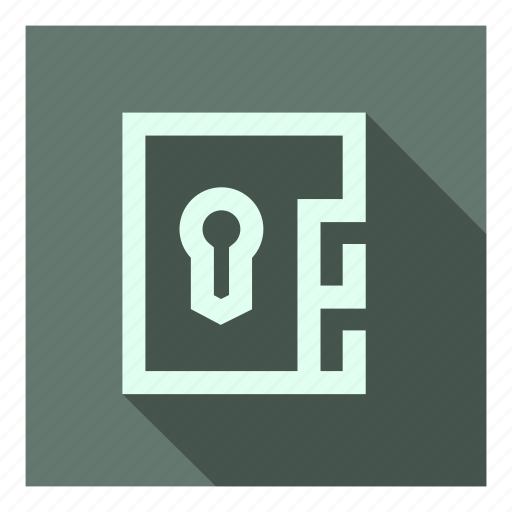 confidential, encrypted, files, folder, locked, protected, secure icon