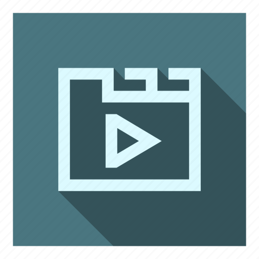 Archive, files, folder, library, my videos, video, videos icon - Download on Iconfinder