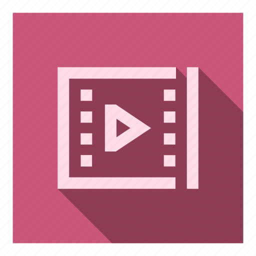 Cinema, edit, file, movie, play, player, video icon - Download on Iconfinder