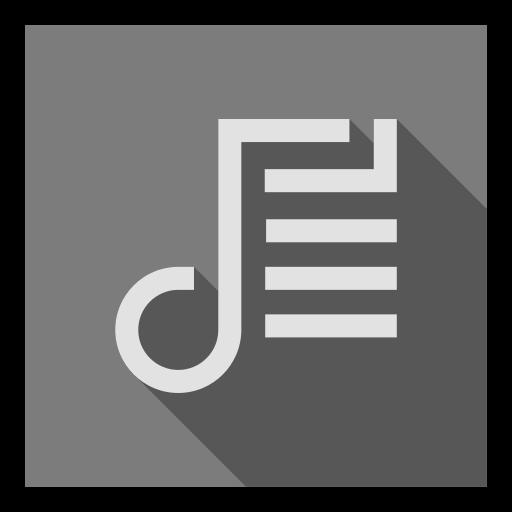 app, list, music, playlist, songs, track, tracks icon