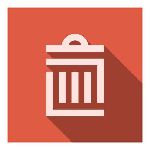 Delete, eliminate, garbage, litter, recycle, remove, trash icon - Free download