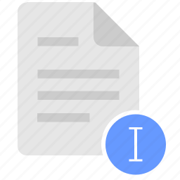 doc, document, edit, file, text icon