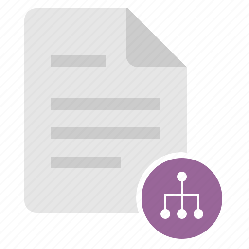 doc, document, file, map, sitemap icon