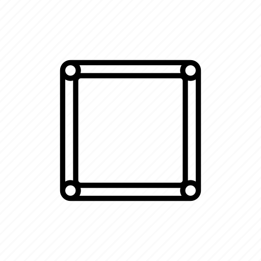 Border, box, editor, outline, stroke, tools icon - Download on Iconfinder
